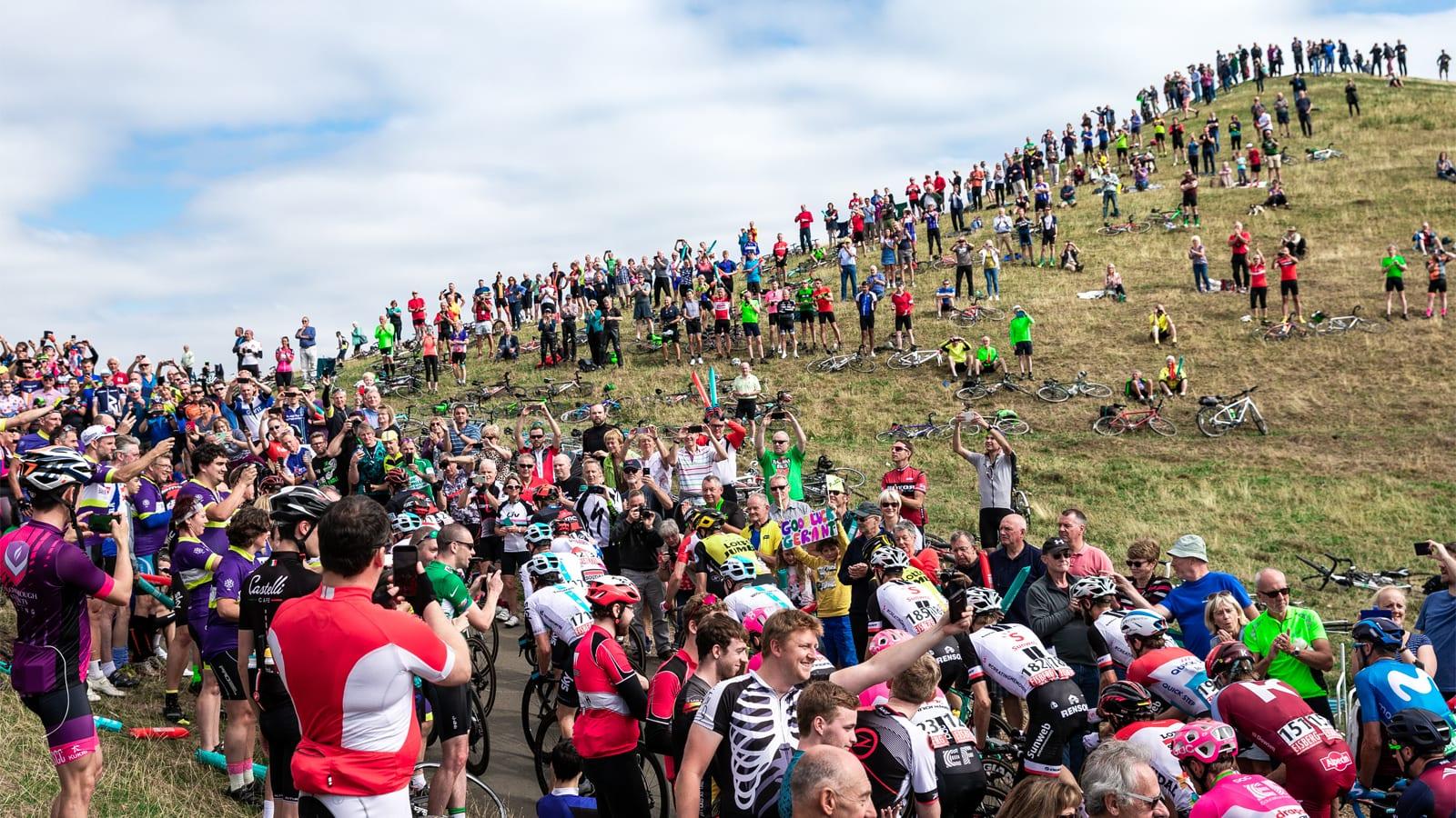 Tour of Britain climb