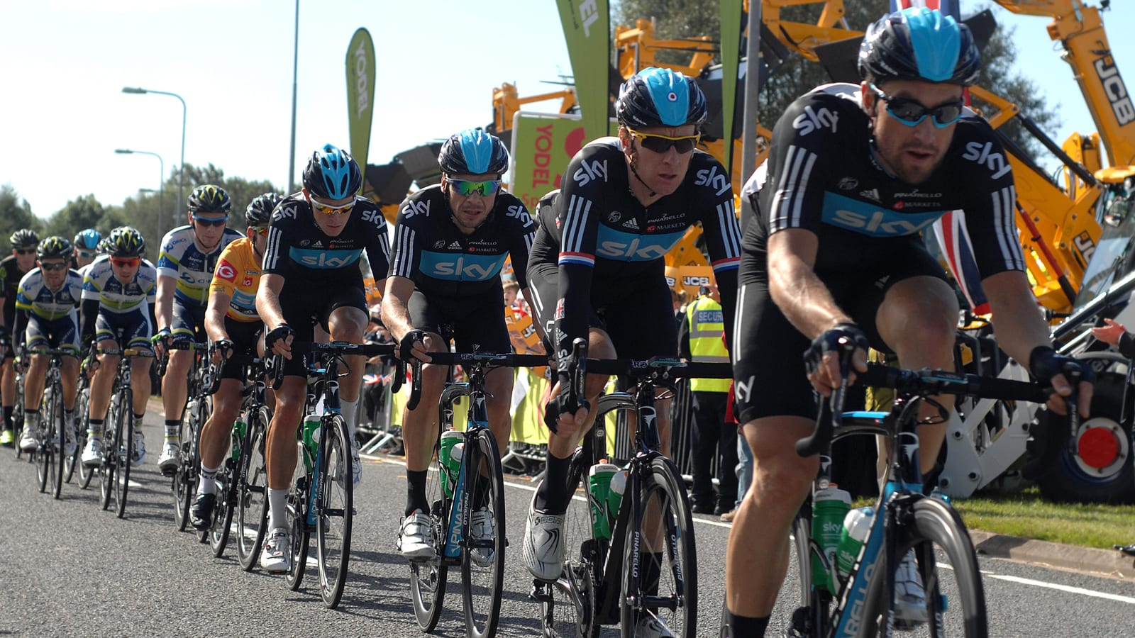 Tour of Britain Team Sky