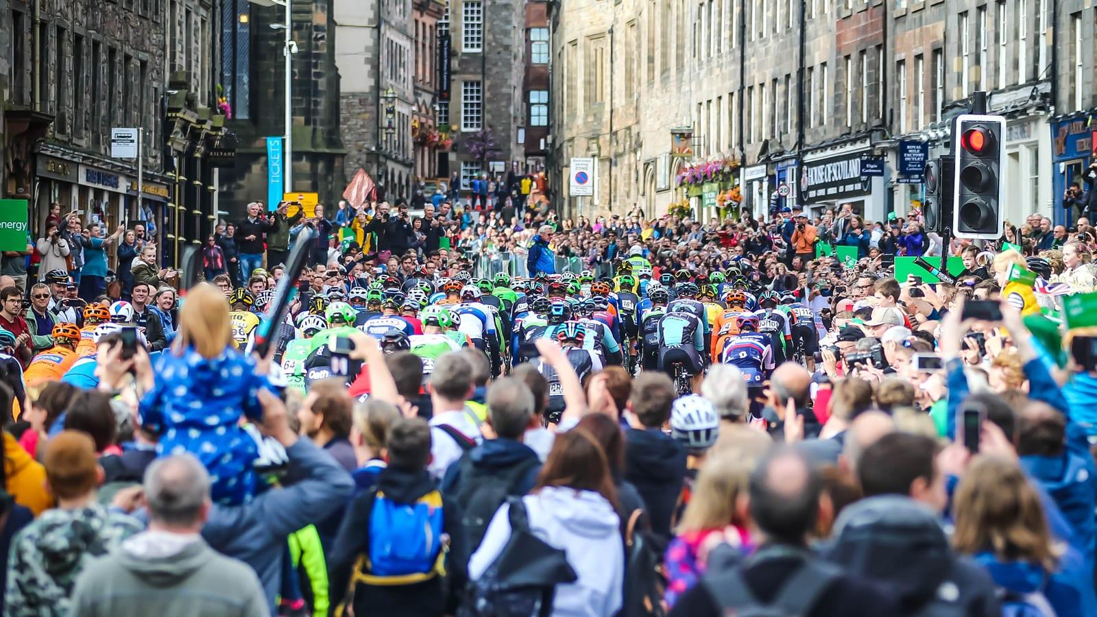 Tour of Britain Edinburgh 2021