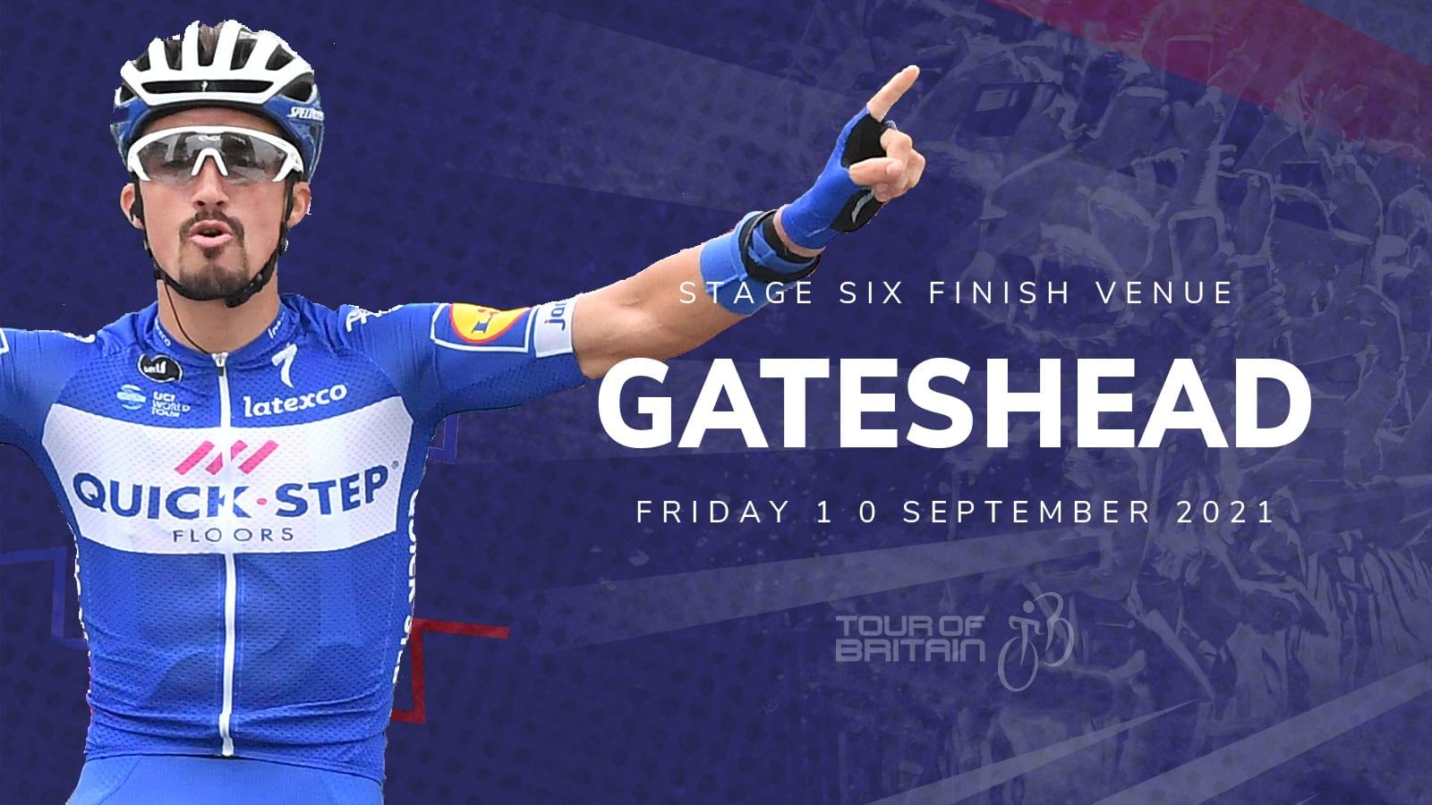 Tour of Britain Gateshead 2021