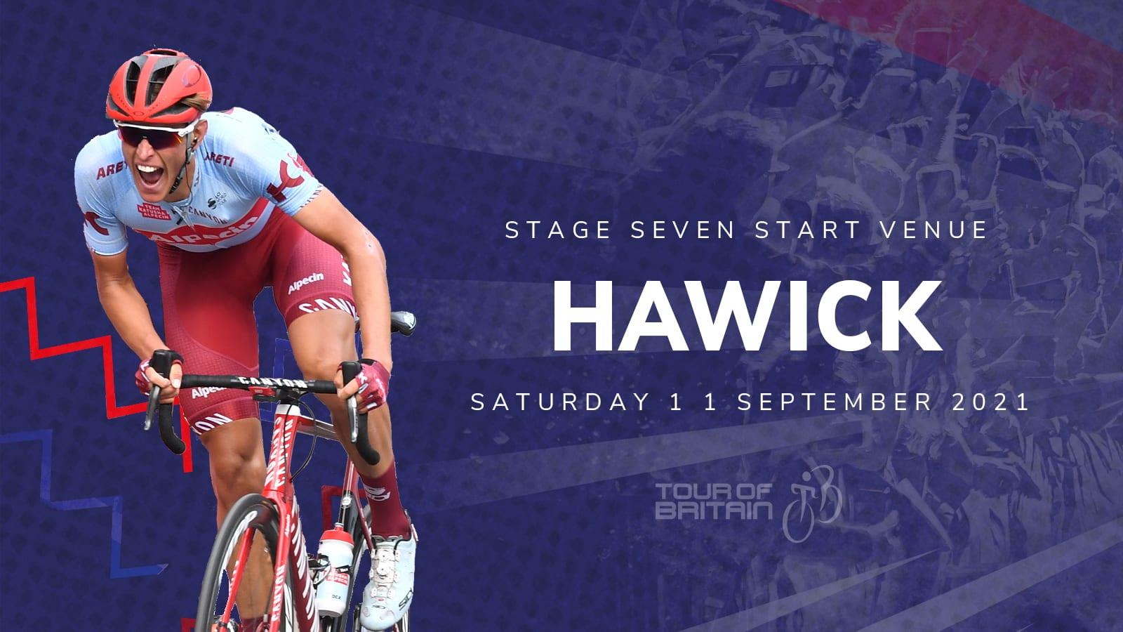 Tour of Britain Scottish Borders Hawick