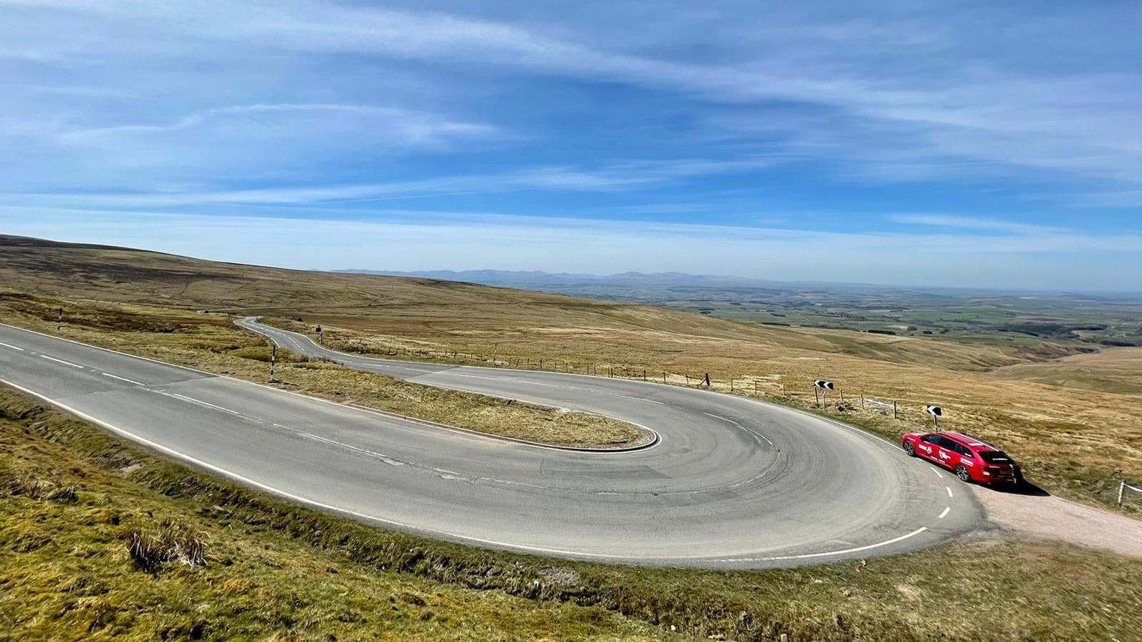 2021 Tour of Britain route