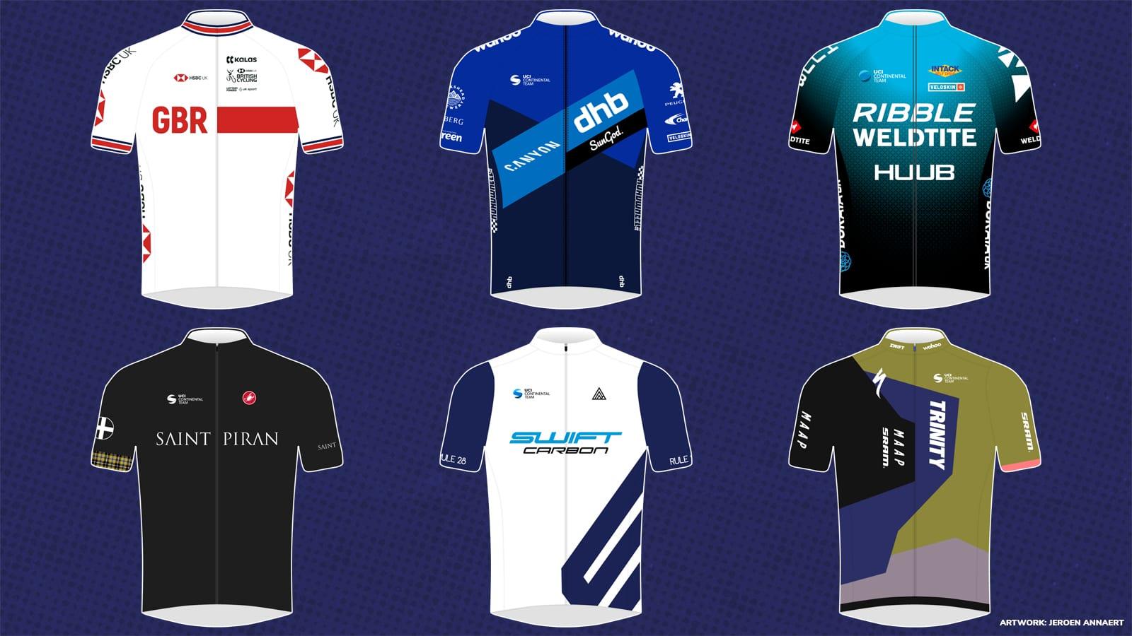 Tour of Britain teams