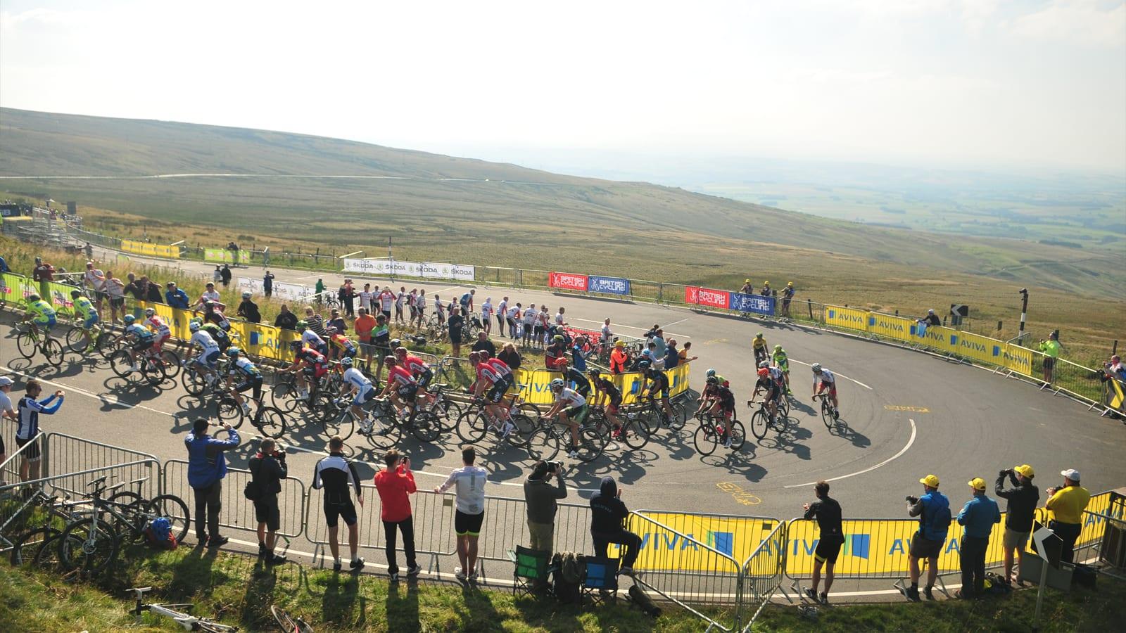 Tour of Britain Carlisle Cumbria