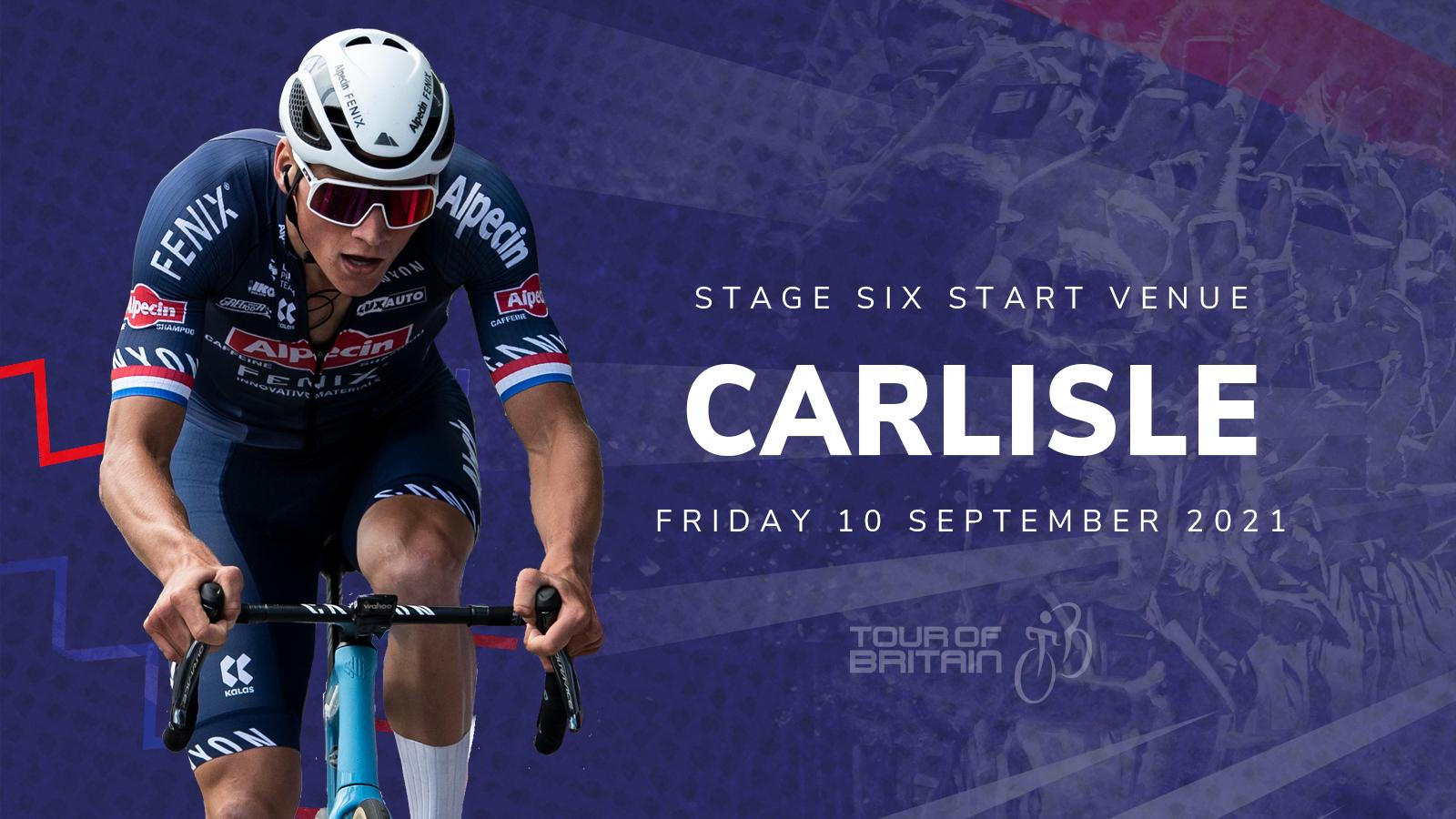 Tour of Britain Carlisle 2021