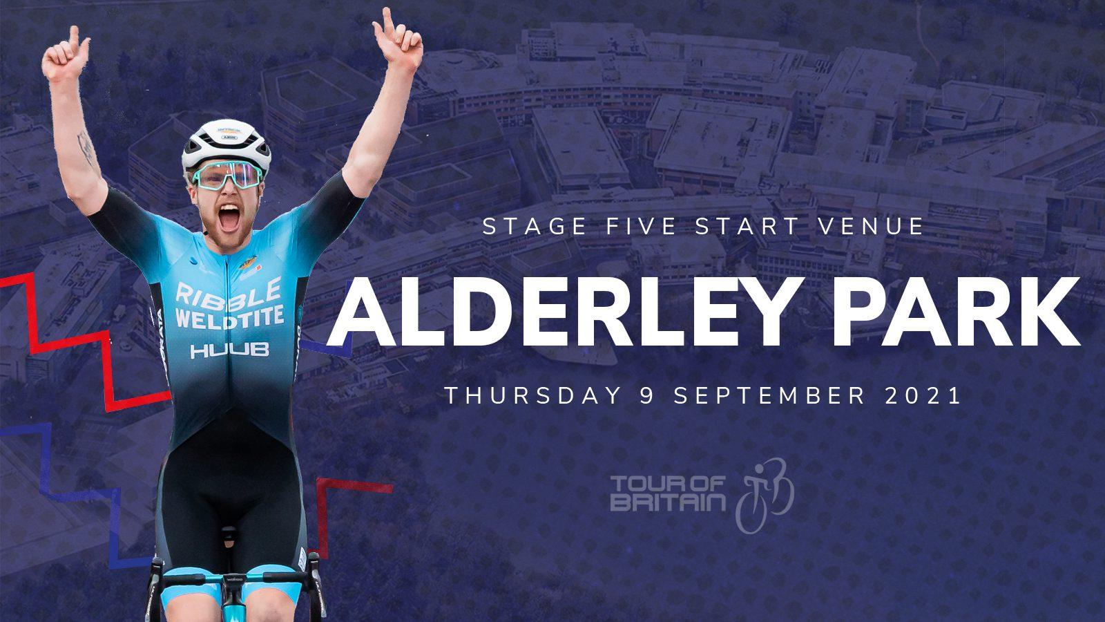 Tour of Britain Alderley Park