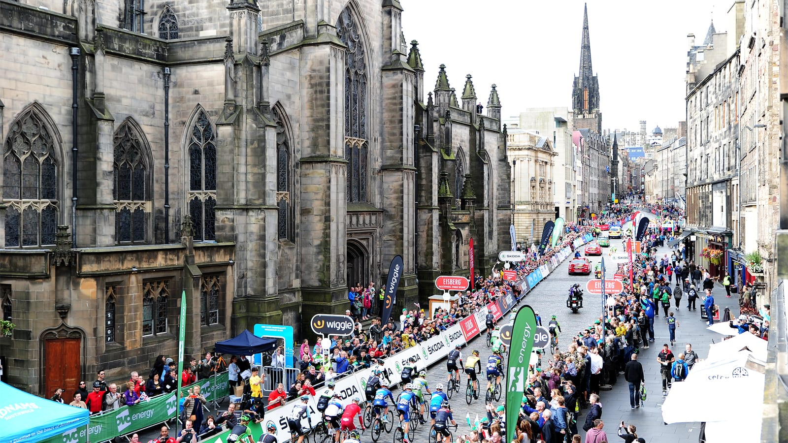 Tour of Britain Scotland Edinburgh