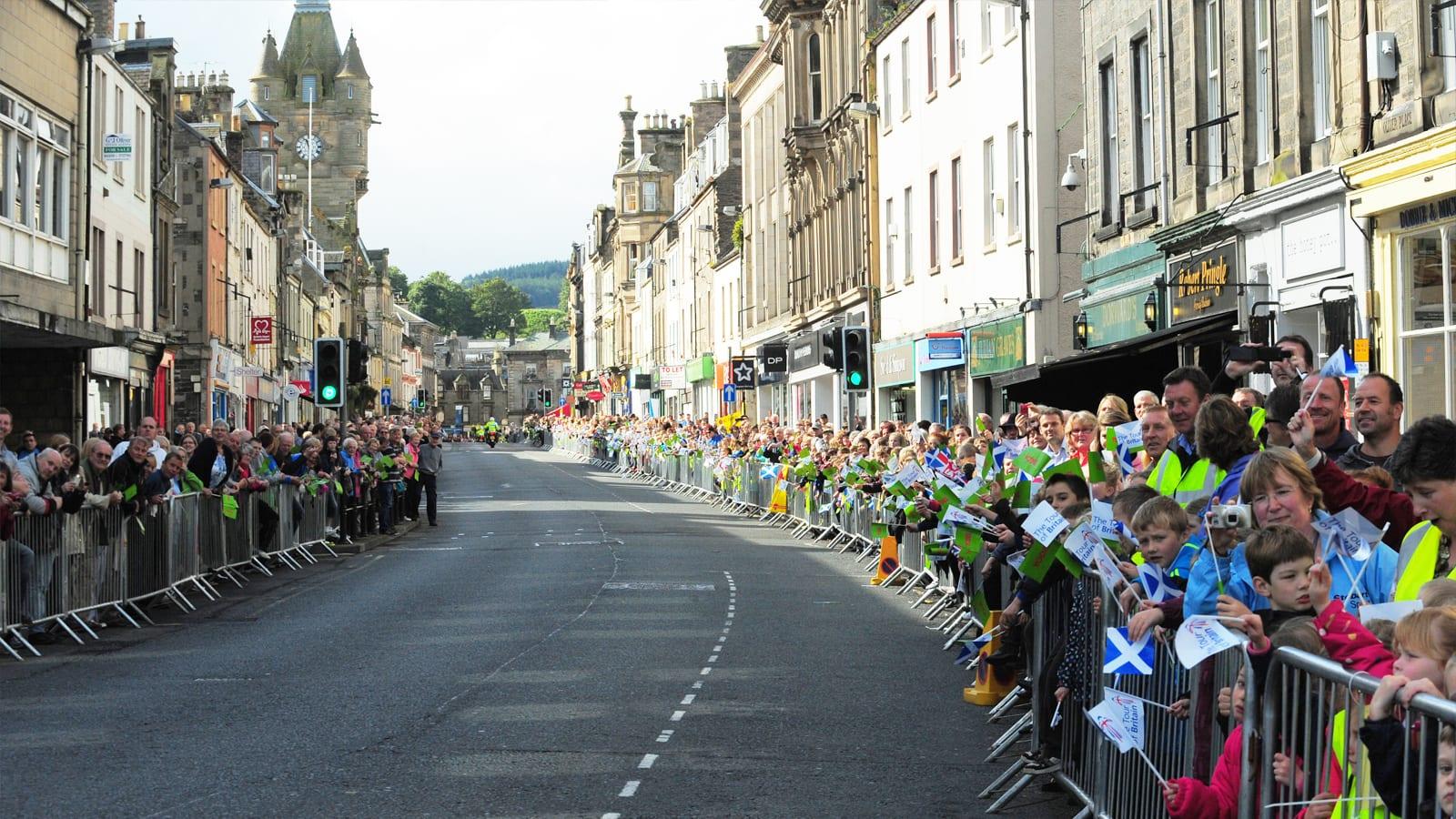 Hawick Tour of Britain 2012