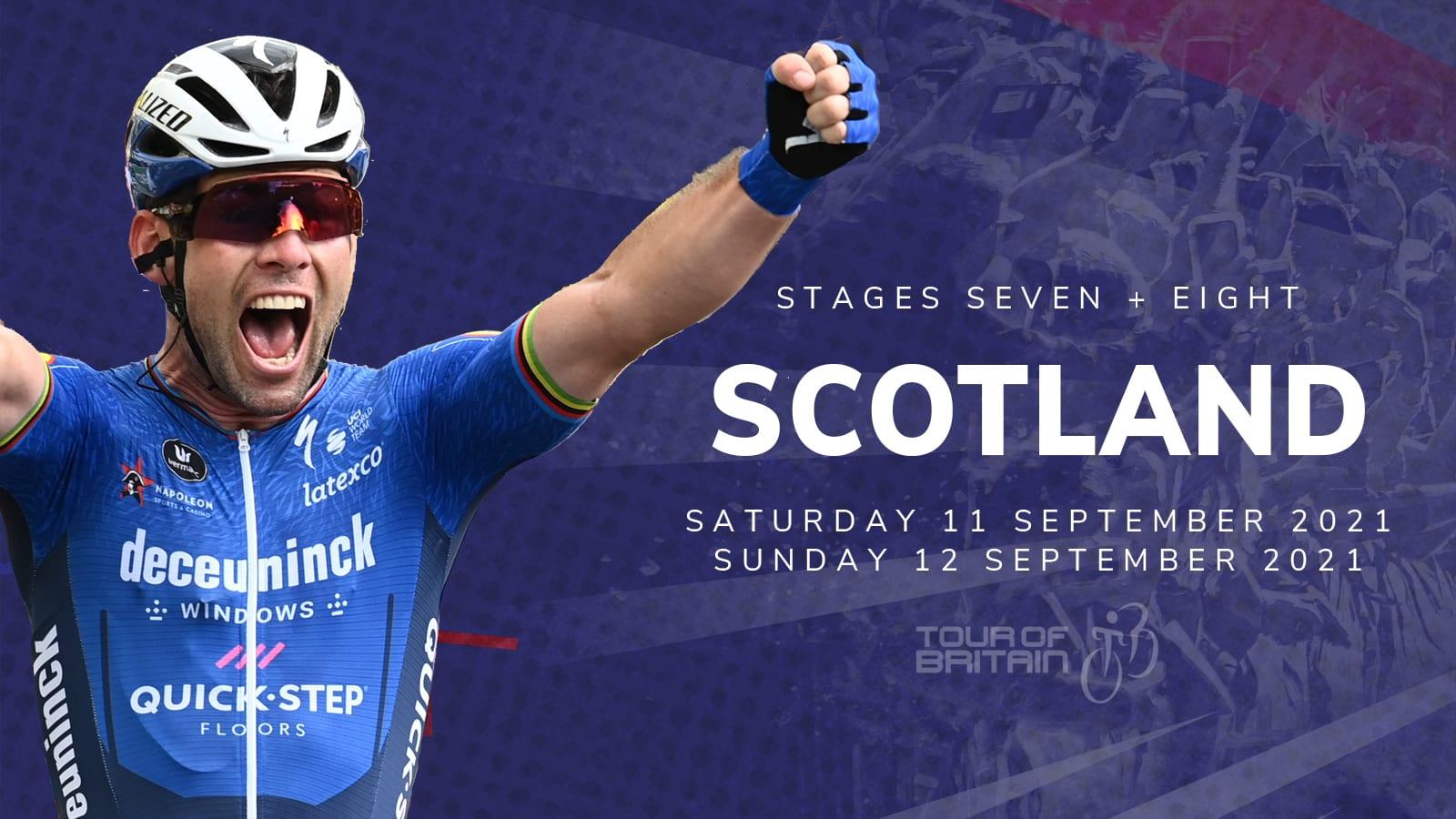 Tour of Britain Scotland 2021