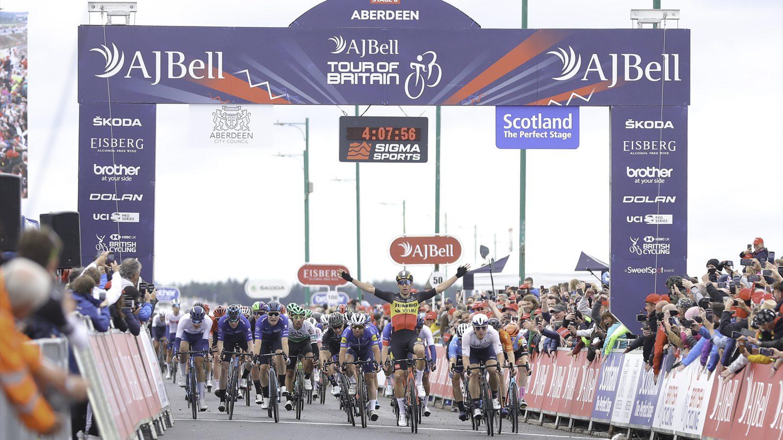 Wout van Aert Tour of Britain
