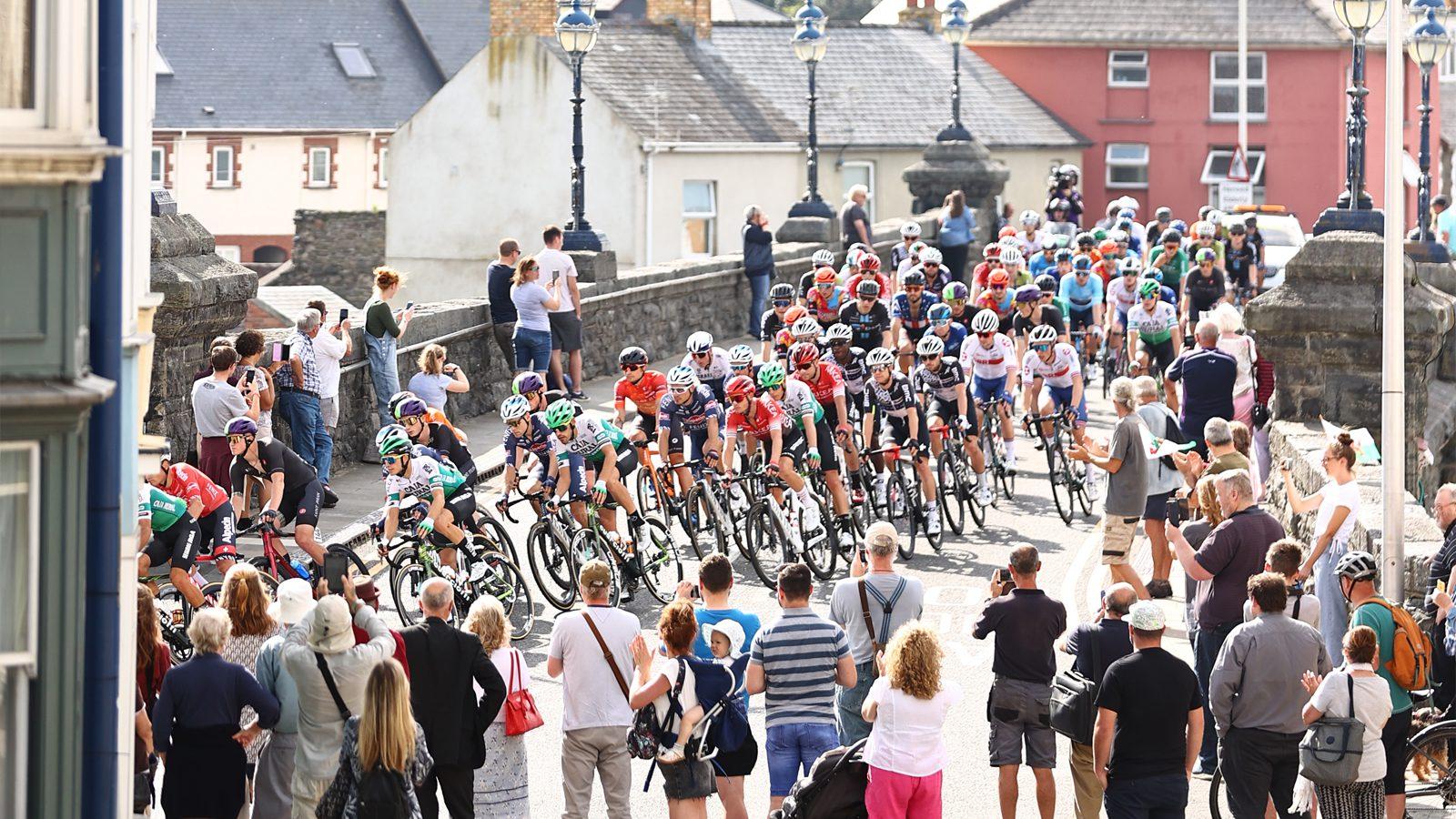 Tour of Britain spectator